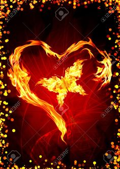 flaming heart images - Google Search