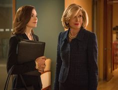 How To Power Dress for the Office Like Alicia Florrick on The Good Wife http://www.glamour.com/fashion/blogs/dressed/2014/10/the-good-wife-costume-designer #workuniformsdirect #thegoodwife http://www.workuniformsdirect.com/