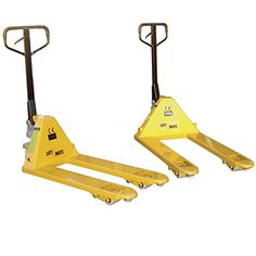 Are you in need of a little lift? Then these super quick pump action pallet trucks are just the ticket. It requires just 5 pumps to get them to their maximum height of 20cm. These strong lads are capable of lifting loads of up to a whopping 2500kg. https://www.esedirect.co.uk/p-4723-quick-lift-pallet-trucks-2500kg-capacity.aspx
