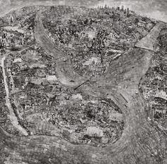 Diorama Map of ISTANBUL, 2014 © Sohei Nishino <thefunambulist.net>