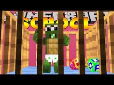 Minecraft School - TURNING INTO BABIES ! w/ Little Kelly - YouTube