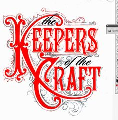 Keepers of the Craft by Bobby Haiqalsyah, via Behance