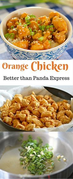 This Orange Chicken Recipe is absolutely amazing. I am sure that you will like it even more than Panda Express! #chinesefoodrecipes