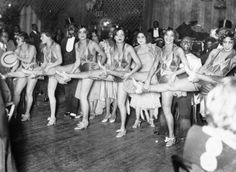 1929 Dancers at Small's Paradise Club in Harlem