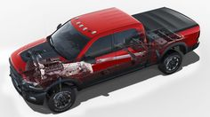 2017 Ram Power Wagon Is an Off-Road Beast - Photo Gallery of Auto Show News from Car and Driver - Car Images - Car and Driver Ram Cars, Ram Trucks, Dodge Trucks, Dodge Ram Power Wagon, 2018 Ram, Vw Gol, Range Rover Sport, Car Images, Car And Driver