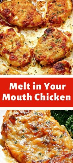 chicken flavor tender simple moist mouth full melt your best make and all of in Full of flavor moist tender melt in your mouth chicken and best of all simple to makeYou can find Chicken recipes and more on our website Quick Chicken Recipes, Meat Recipes, Cooking Recipes, Healthy Recipes, Stuffed Chicken Recipes, Recipies, Stuffed Chicken Breasts, Chicken Breats Recipes, Quick Chicken Dishes