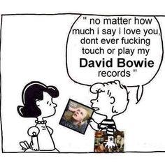 Charlie Brown David Bowie