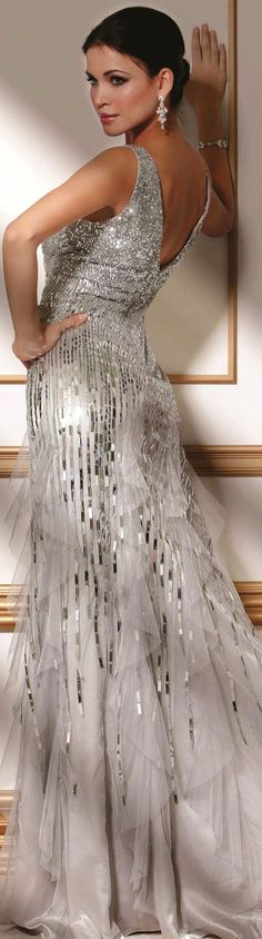Jovani ● Silver Gown