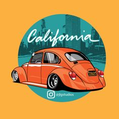 Get a custom t-shirt design that promotes your busines brand and the services you provide. We customize your design to fit your business needs. Volkswagen, Vw Bus, Auto Illustration, Carros Retro, Beetle Drawing, Kdf Wagen, Car Posters, Car Drawings, Automotive Art