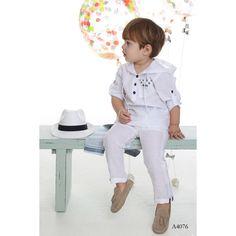 Βαπτιστικά Ρούχα Mi Chiamo - Ενδύματα Υψηλής Ποιότητας Michiamo - ΒΑΠΤΙΣΤΙΚΑ ΡΟΥΧΑ - ΒΑΠΤΙΣΤΙΚΑ ΡΟΥΧΑ Summer Collection, Spring Summer, Boys, Kid Outfits, Baby Boys, Sons