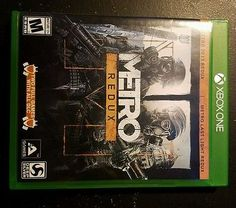 cool Metro Redux (Microsoft Xbox One 2014) Great Condition - For Sale View more at http://shipperscentral.com/wp/product/metro-redux-microsoft-xbox-one-2014-great-condition-for-sale/