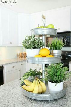 Love this 3-tiered stand.