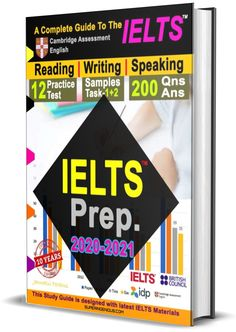 IELTS Prep 2020-2021 Guide Reading Practice, English Reading, Ielts, Assessment, Audiobooks, Prepping, This Book, Study, Writing