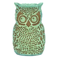 Have to have it. Benzara 15H in. Owl Shape Vase - $44.99 @hayneedle