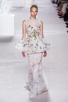 Giambattista Valli at Couture Fall 2013
