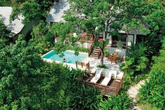 Destination spa for total rejuvenation in a rainforest wonderland