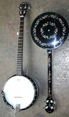 [ƒrettedchordophone 2015] Eko 5 string and Tenor Banjos --- https://www.pinterest.com/lardyfatboy/