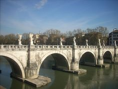 Bridge of Angels near Castel Sant' Angelo