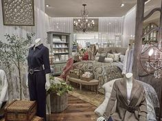Soft Surroundings retail stores are across the nation and DrapeStyle makes these beautiful sheer draperies!