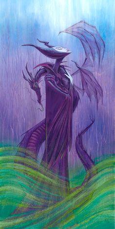 Maleficent by Martin Hsu