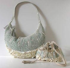 Mother Of Pearl Bag from MOYNA!  www.moynabags.com