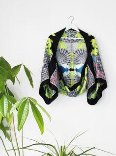 DIY kimono cape tutorial