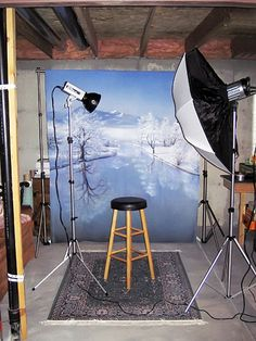 How to set up in a home studio in a small space