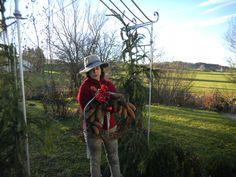 self-created winter wreath - Birgit Stocker