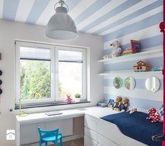 Wnętrze z Banksy`m - Pokój dziecka, styl skandynawski - zdjęcie od studio POTORSKA