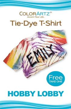 Create a fun a colorful tie dye t-shirt, with just a few easy steps. This will surely show those around your true colors.