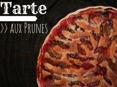 tarte au prunes- Pflaumentarte mit Lavendelzucker