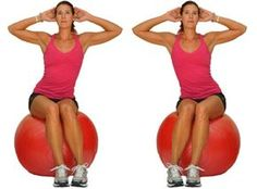 The ball is an excellent tool for building strength, balance and stability. Try this beginner ball workout to increase your core strength and work on your balance.