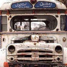 Istanbul şam arası sefer yapan otobüs