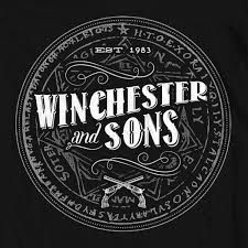 Image result for & sons logo Winchester, Sons, Logo Style, Style Ideas, Supernatural, Yellow, Image, My Son, Boys
