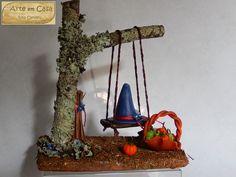 Arte em Casa por Rita Candeu: Chapéu Azul no balanço