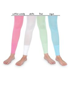 Country Kids Little Girls  Dotty 2 Pack Tights 2 Pair