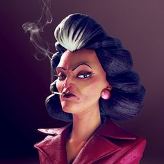 ArtStation - The Administrator - Redux, Olivier Couston