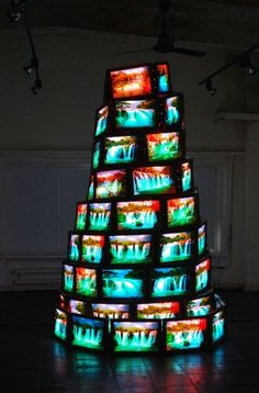 Goran Hassanpour - Tower of Babel, 2011