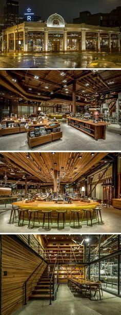 11 Die Meisten Einzigartig Gestaltete Starbucks Coffee-Shops Von Auf Der Ganzen Welt – Home Deko