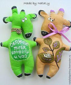 Купить Олени. Жирафы. Новогодние. Ароматные -2 - олени, Новый Год, жираф, подвеска, магнит