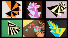 A few months ago, I got an email from one of the art teachers in the school. She was offering her classroom, a makerspace of sorts, and her creative expertise to any teacher that wanted to bring t… Math Art, Math Skills, Geometry, Appreciation, Doodles, Art Teachers, Classroom, Abstract, Triangles