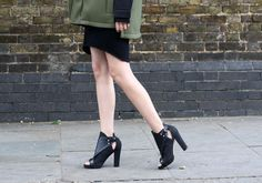 Marie from Blame It On Fashion in the Hard Crush Bootie (http://www.nastygal.com/shoes/hard-crush-bootie) #ShoeCult
