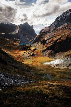 The Alps Valley