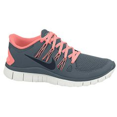 Nike Free 5.0+ - Women's - Running - Shoes - Pink Force/Volt/White