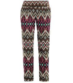 Java diamond-print trousers  by ondadamar (40468)  #Matchesfashion