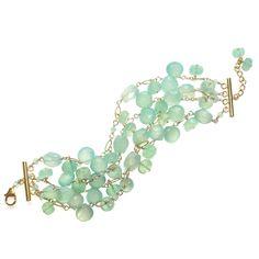 Something Blue! Chalcedony bracelet from Sophia & Chloe