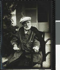 """Les """"pauvres"""" mains d' Auguste Renoir en sa vieillesse..."""