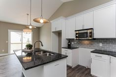 Tile backsplash, granite counters.. beautiful new build! MLS: 16005712
