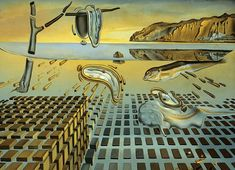 The Disintegration of the Persistence of Memory by Salvador Dali re-creation of the more famous 1931 work. http://ift.tt/2BEq4LE