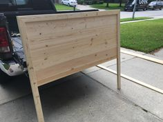 Queen Size Headboard, Weekend Projects, Credenza, Storage, Furniture, Home Decor, Purse Storage, Decoration Home, Tall Headboard